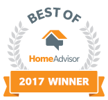 2017 Best of HomeAdvisor Award