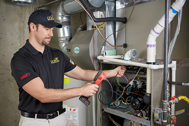 Lion Home Service Furnace Tune Up