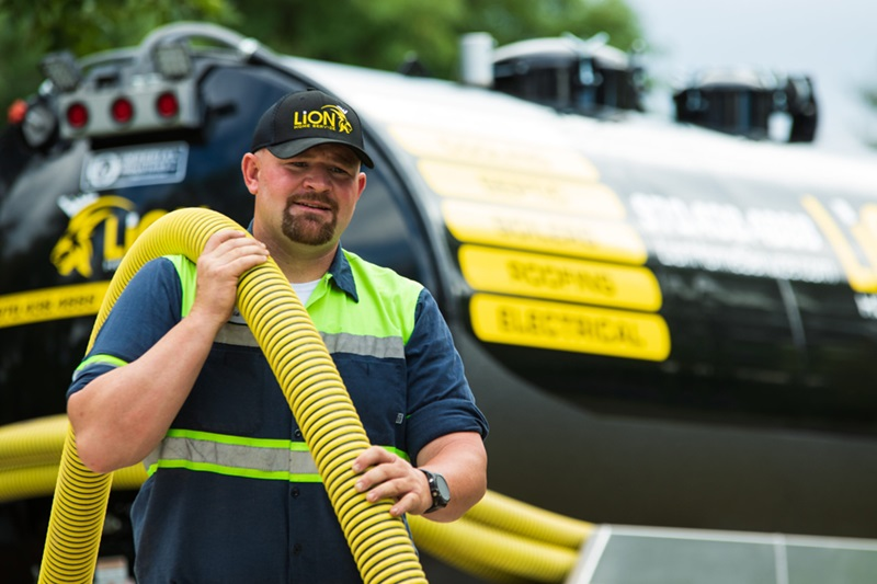 Lion Home Service 24-7 Greeley septic contractors.