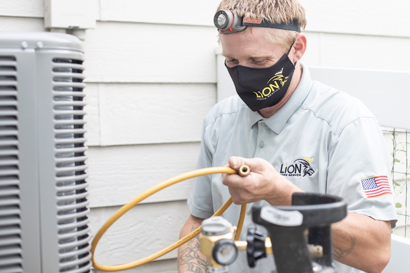 Loveland a/c replacement by Lion Home Service